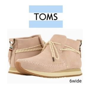 TOMS Blush Woman's suede Rio Sneakers